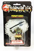 Thundercats (Cosmocats) - Kidworks Miniatures - S-s-slithe / Krolor (neuve sous blister)