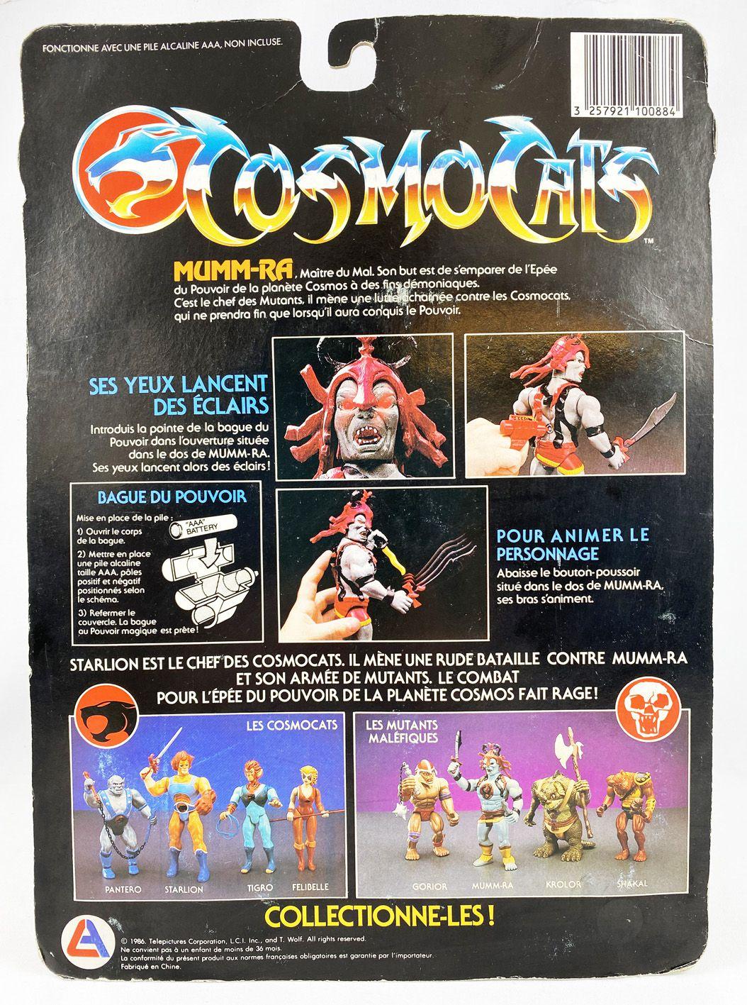 Thundercats (Cosmocats) - LJN - Mumm-Ra (neuf sous blister Fr)