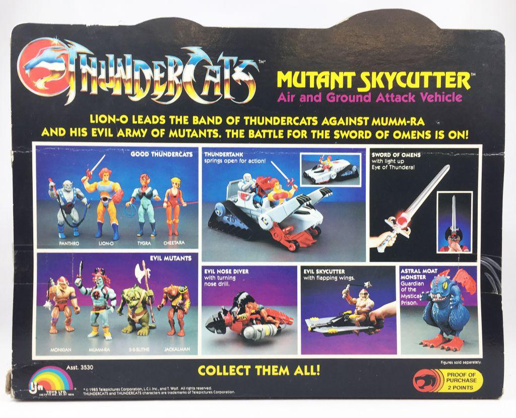 Thundercats (Cosmocats) - LJN - Mutant Skycutter (neuf en boite)