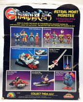 Thundercats (Cosmocats) - LJN (Rainbow Toys) - Astral Moat Monster (occasion en boite)