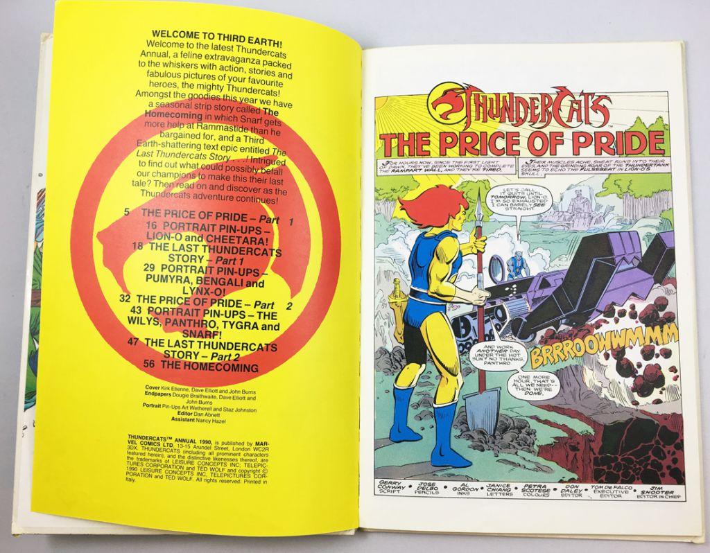 Thundercats (Cosmocats) - Marvel Comics Annual 1990