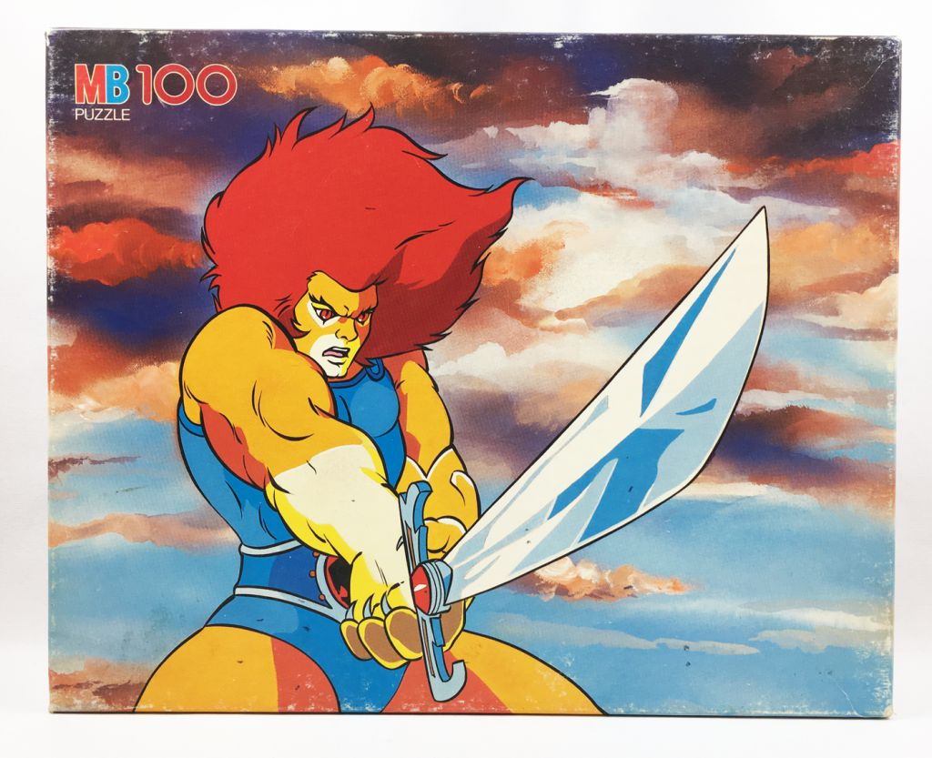 Thundercats (Cosmocats) - Puzzle MB 100 pièces - Lion-O / Starlion (ref.3417-20)