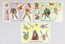 Thundercats (Cosmocats) - Shredded Wheat (Céréales) - 3x Thundercats Stick \'n\' Lift Stickers