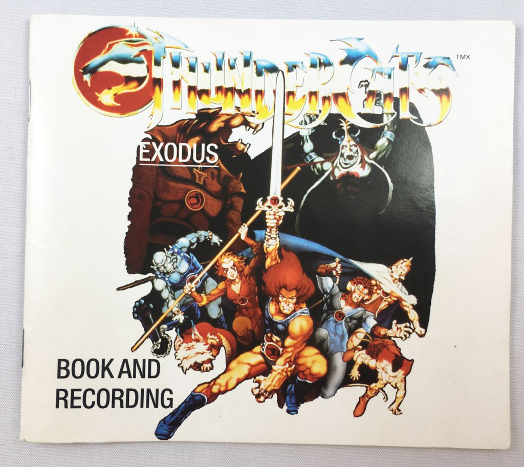 Thundercats (Cosmocats) - Tempo Gift Box - 4 Story Books + Cassette Audio