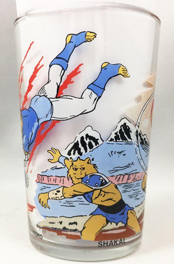 Thundercats (Cosmocats) - Verre à moutarde Amora  - Starlion, Shakal, Tigro & Ro-Ber Bill