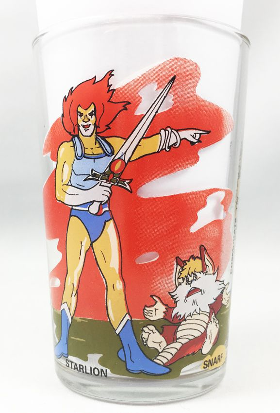 Thundercats (Cosmocats) - Verre à moutarde Amora - Starlion & Snarf / Krolor, Gorior & Shakal
