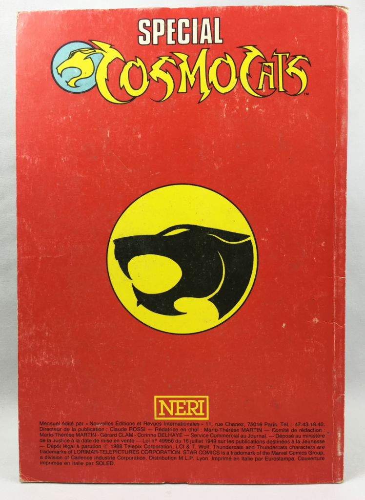 Thundercats (Special) - NERI Comics n°3 (Bimonthly)