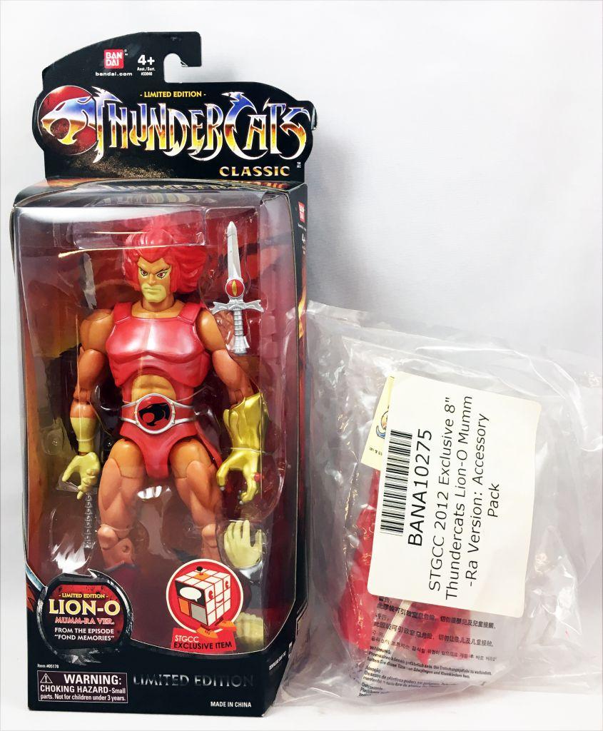 Thundercats Classic (Cosmocats) - Bandai -  Lion-O \'\'Mumm-Ra version\'\' (Edition Limitée)