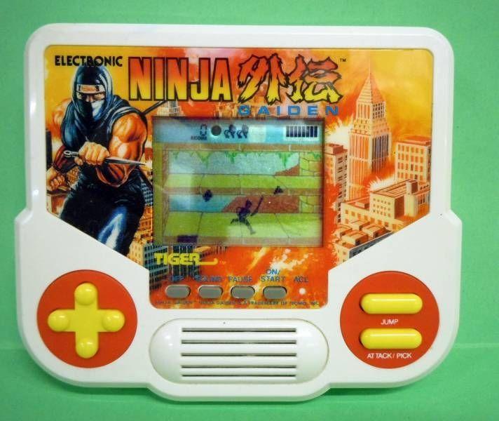 Tiger - Handheld Game - Ninja Gaiden