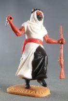Timpo - Arabes - Piéton blanc couteau & fusil jambes courantes pantalon noir