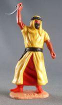 Timpo - Arabes - Piéton jaune cimeterre jambes avançantes (robe recouvrant la jambe) pantalon rouge