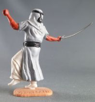 Timpo - Arabs - Footed - Grey (scimitar) running legs white trousers