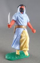 Timpo - Arabs - Footed - Variation light blue (knife) running legs yellow trousers