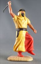 Timpo - Arabs - Footed - Yellow (scimitar) running legs red trousers