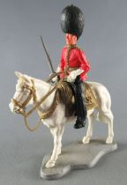Timpo - Ceremonial (British) Guards - 2éme série - Cavalier officier cheval blanc
