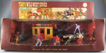 Timpo - Cow-Boys - Wild West Vehicles Series StageCoach & Cowboys MIB (ref 200)