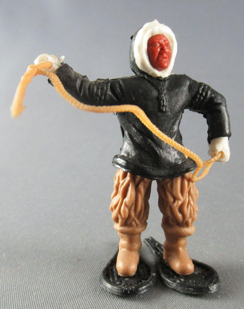 Timpo - Eskimos - Bras Droit levé noir (harpon beige) jambes droites beiges