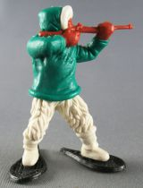 Timpo - Eskimos - Firing Rifle green advancing white legs