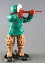 Timpo - Eskimos - Firing Rifle green standing fawn legs