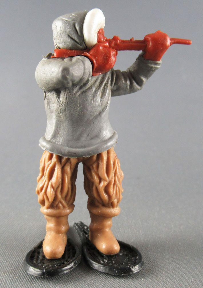 Timpo - Eskimos - Firing Rifle grey standing fawn legs