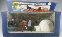 Timpo - Eskimos - Frozen North Series Kayak Igloo Set & 4 Figures (ref 299) 3