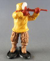 Timpo - Eskimos - Tireur Fusil jaune jambes droites beiges