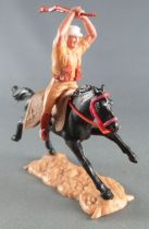 Timpo - Foreign Legion - Mounted clubbing with rifle black galloping (long) horse