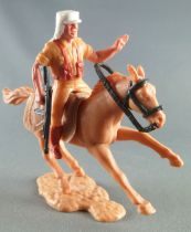 Timpo - Foreign Legion - Mounted left arm raised (mg) light brown galloping (short) horse