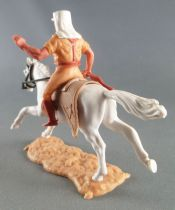 Timpo - Foreign Legion - Mounted left arm raised (rifle) white galloping (long) horse