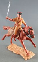Timpo - Foreign Legion - Mounted officer brown galloping (long) horse