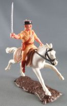 Timpo - Foreign Legion - Mounted officer white galloping (long) horse
