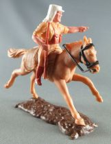 Timpo - Foreign Legion - Mounted pointing (rifle) light brown galloping (long) horse
