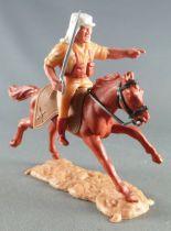 Timpo - Légion Etrangère - Cavalier doigt pointé (sabre) cheval marron galop long