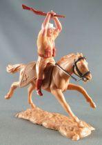 Timpo - Légion Etrangère - Cavalier fusil à deux mains cheval baie galop long