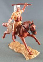Timpo - Légion Etrangère - Cavalier lanceur de grenade cheval marron galop long