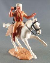 Timpo - Légion Etrangère - Cavalier radio cheval blanc galop court