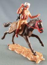 Timpo - Légion Etrangère - Cavalier radio cheval brun galop long