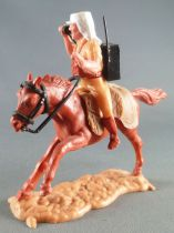 Timpo - Légion Etrangère - Cavalier radio cheval marron galop long