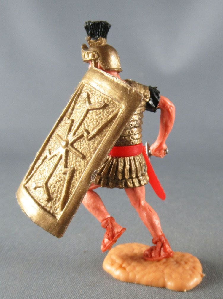 Timpo - Roman - Footed (black) Fighting with sword 4