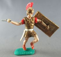 Timpo - Roman - Footed Centurion (red large crest) attacking with sword