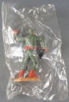 Timpo - WW2 - Americans - 2nd series - Throwing grenade (rifle) standing leaning to the right legs Mib