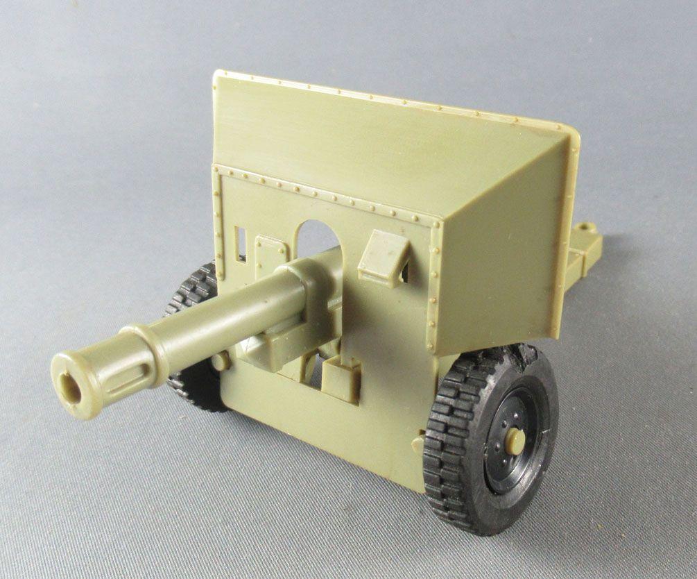 Timpo - WW2 - Anglais (Infanterie) - 2ème série - Accessoires - Canon d\'Artillerie réf 1008