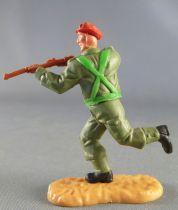 Timpo - WW2 - Anglais (Paras Béret Rouge) - 2ème série - Tireur fusil courant