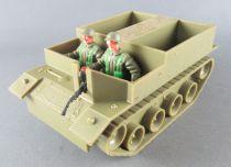 Timpo - WW2 - British Infantry - 2nd Series - Accessories - Bren Gun carrier with crew Ref 1015