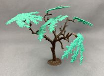 Timpo Accessoires arbre 5 feuillages vert foncés et une branche amovible