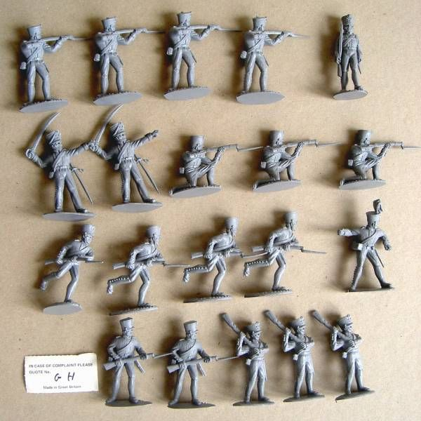 Timpo Action Packs Waterloo Prussian Infantrye