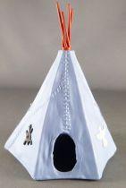 Timpo Indiens Accessoire Tippi (tente) bleu (réf 1005) 2