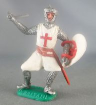 Timpo Middle-Age Crusader 1st serie footed defanding (sword) leaning to the left legs
