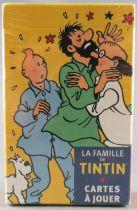 Tintin -  La Famille de Tintin Jeux de Cartes - Hergé-Moulinsart 2010 Neuf