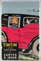 Tintin -  Tintin et les Voitures Jeux de 54 Cartes - Hergé-Moulinsart / Editions Atlas 2007